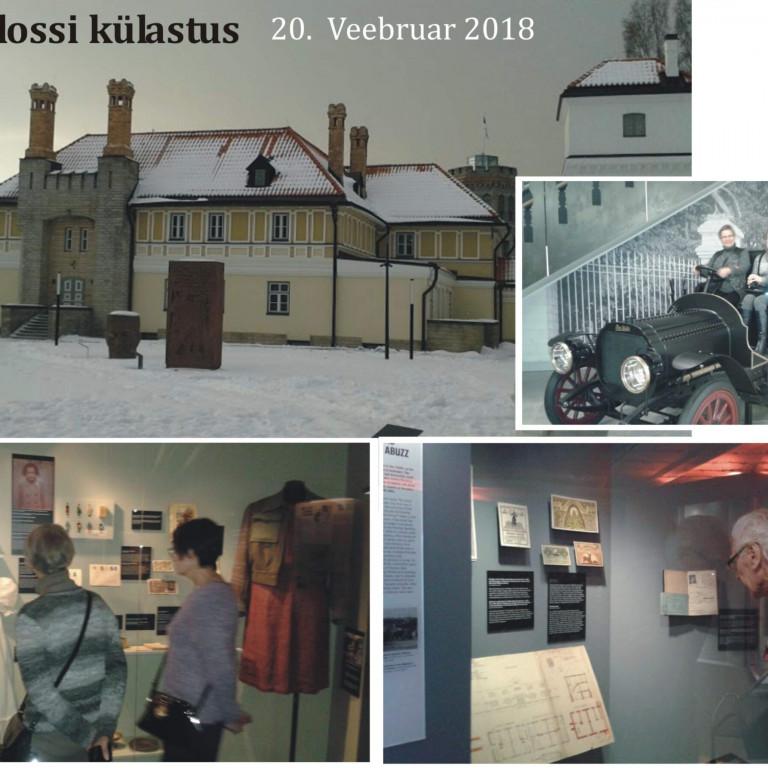 Orlovi lossi külastus 20,02,2018