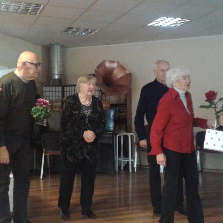 Kalevi spordiveteranidel külas Aleksander Tammert